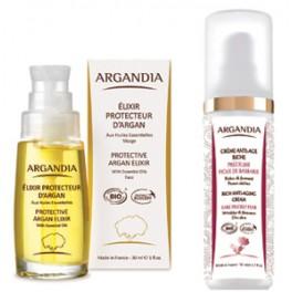 Protective Argan Elixir + Opuntia Cream for dry skin
