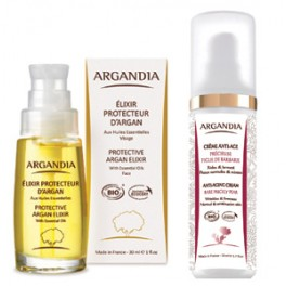 Protective Argan Elixir + Opuntia Cream for oily and combined skin