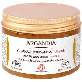 Argan Body Scrub Amber, 150ml
