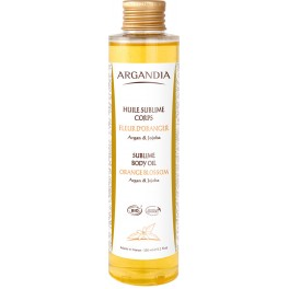 Argan Sublime Body Oil, Orange Blossom